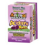 Animal Parade AcidophiKids Chewable Berry Flavor 90 ct